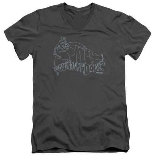 Image for Squidbillies V Neck T-Shirt - Krystal
