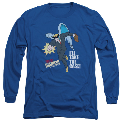 Image for The Venture Bros. Long Sleeve Shirt - Take the Case