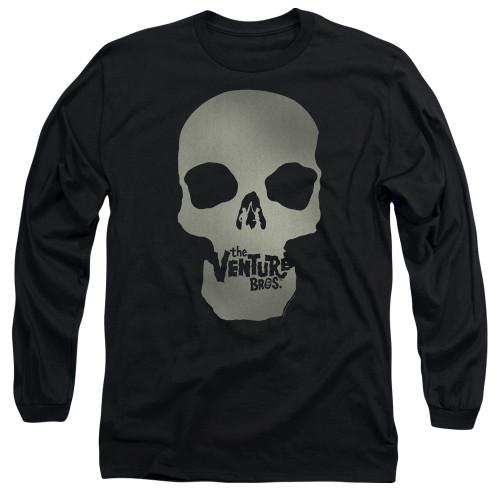 Image for The Venture Bros. Long Sleeve Shirt - Skull Logo