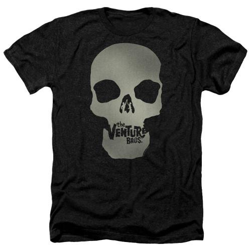 Image for The Venture Bros. Heather T-Shirt - Skull Logo