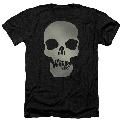 Image for The Venture Bros. Heather T-Shirt - Skull Logo
