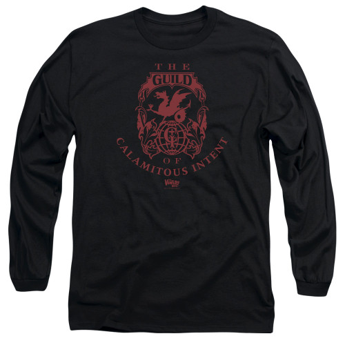 Image for The Venture Bros. Long Sleeve Shirt - The Guild of Calamitous Intent Crest