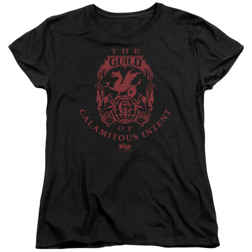 Image for The Venture Bros. Womans T-Shirt - The Guild of Calamitous Intent Crest