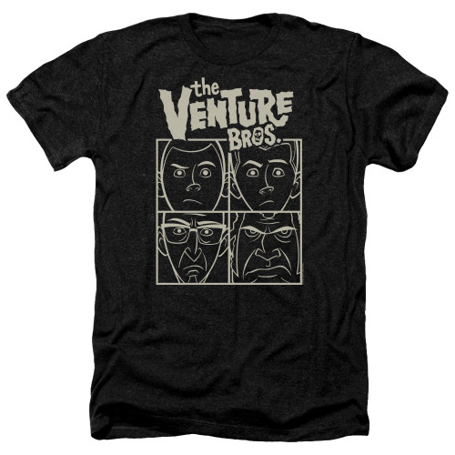 Image for The Venture Bros. Heather T-Shirt - The Ventures