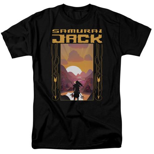Image for Samurai Jack T-Shirt - Sunrise