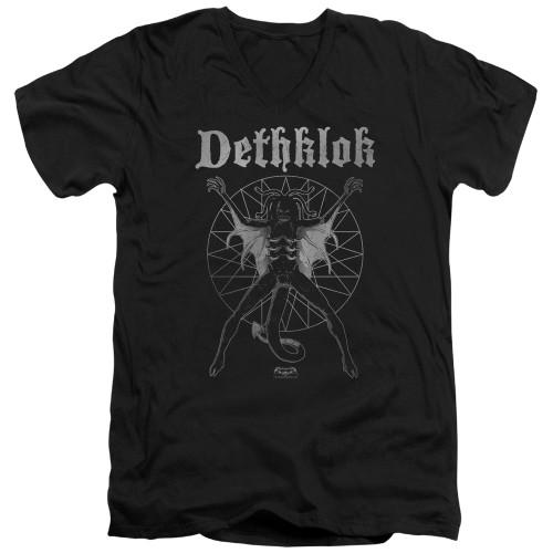Image for Metalocalypse V Neck T-Shirt - Sigil