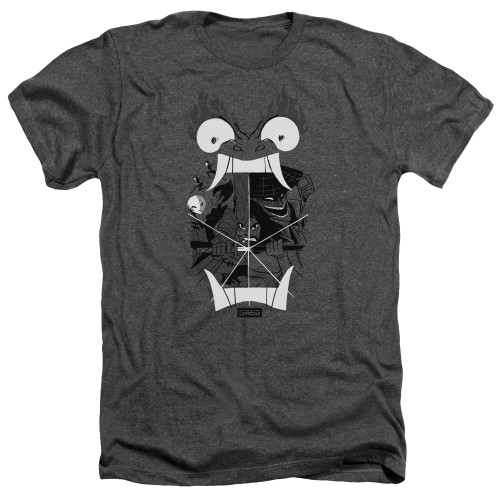 Image for Samurai Jack Heather T-Shirt - Divisive