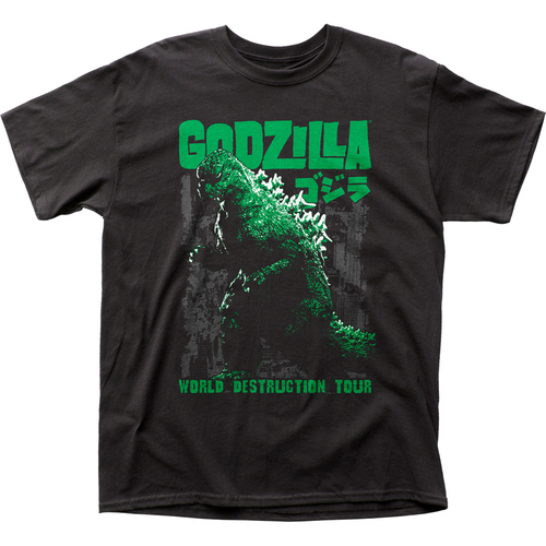 Front image for Godzilla T-Shirt - World Destruction Tour