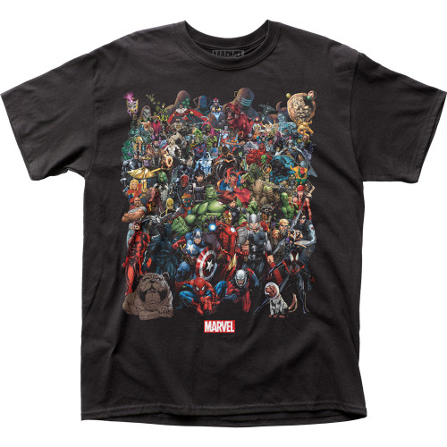 Image for Marvel Comics T-Shirt - Marvel Universe