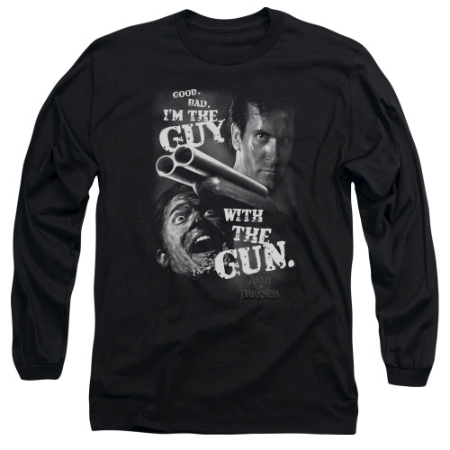 Image for Army Of Darkness Long Sleeve Shirt - I'm the Guy With the Gun