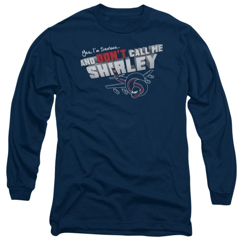 Image for Airplane Long Sleeve Shirt - Don't Call Me Shirley