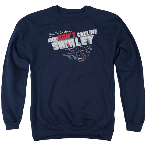 Image for Airplane Crewneck - Don't Call Me Shirley
