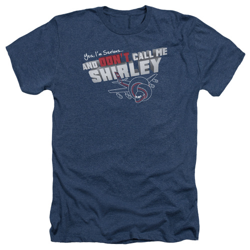 Image for Airplane Heather T-Shirt - Don't Call Me Shirley