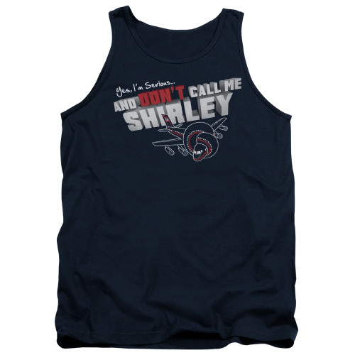 Image for Airplane Tank Top - Don't Call Me Shirley