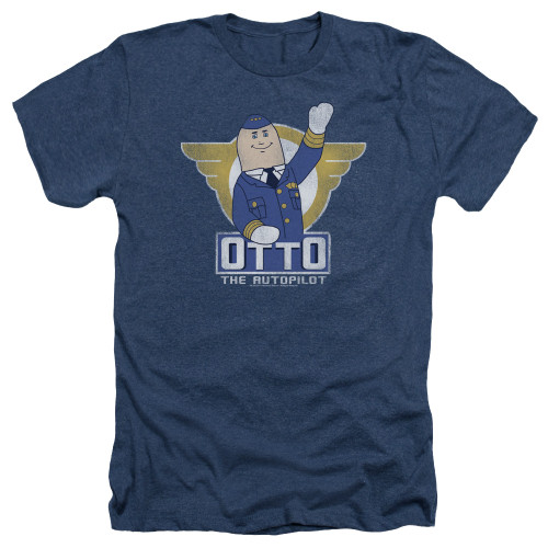 Image for Airplane Heather T-Shirt - Otto