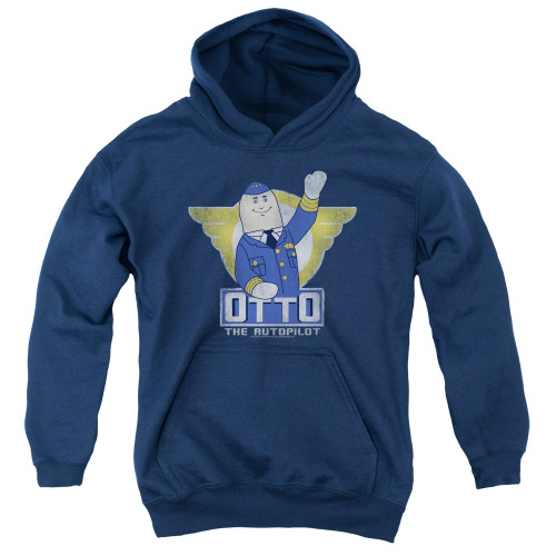 Image for Airplane Youth Hoodie - Otto