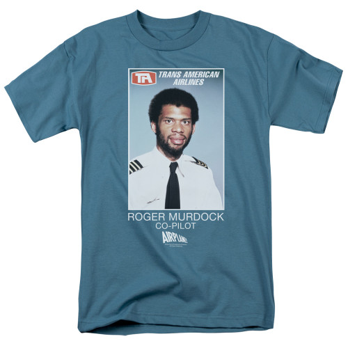 Image for Airplane T-Shirt - Roger Murdock