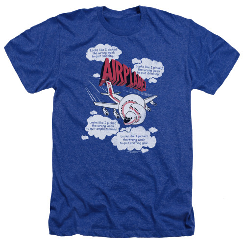 Image for Airplane Heather T-Shirt - Looks Like I Picked the Wrong Week...