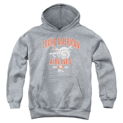 Image for Airplane Youth Hoodie - Trans American Airlines