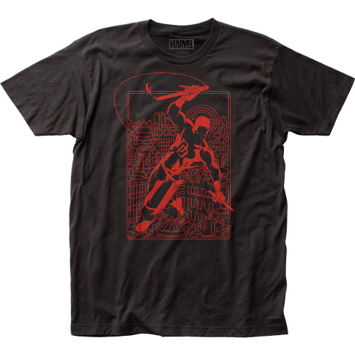 Image for Daredevil T-Shirt - Line Art