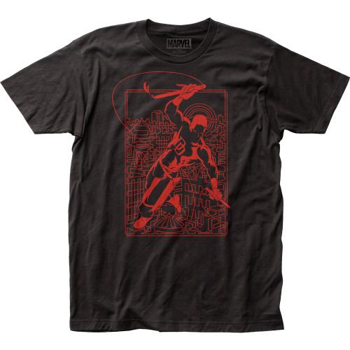 Image for Daredevil T-Shirt - Line Art