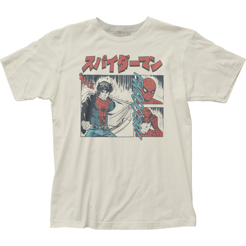 Image for Spider-Man T-Shirt - The Manga
