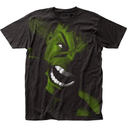 Image for The Hulk Subway T-Shirt - Yell Big Print