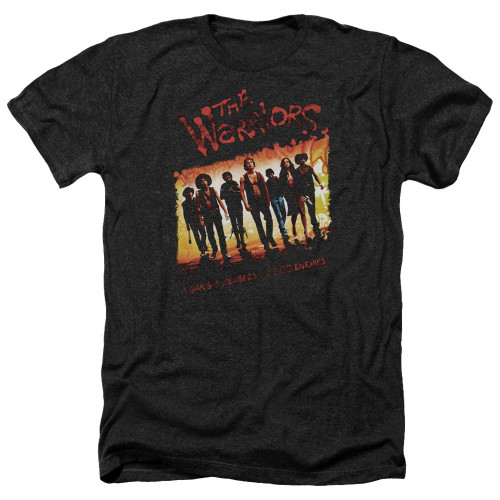 Image for The Warriors Heather T-Shirt - One Gang