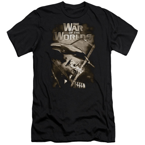 Image for War of the Worlds Premium Canvas Premium Shirt - Death Rays