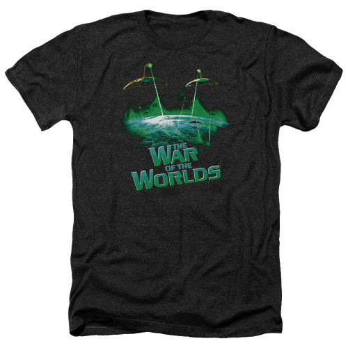 Image for War of the Worlds Heather T-Shirt - Global Attack
