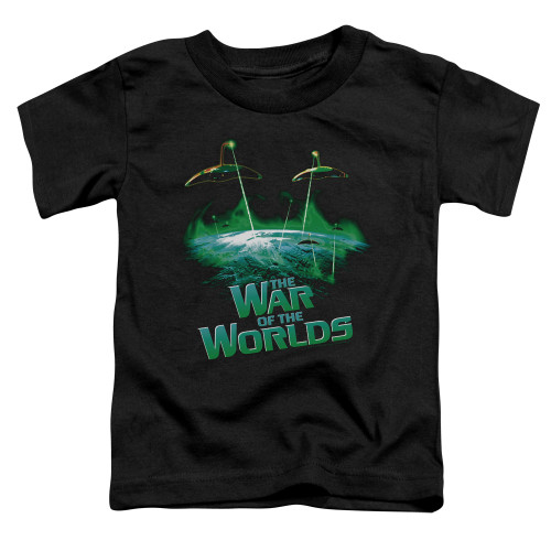 Image for War of the Worlds Global Attack Poster Toddler T-Shirt