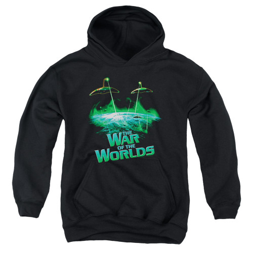 Image for War of the Worlds Youth Hoodie - Global Attack