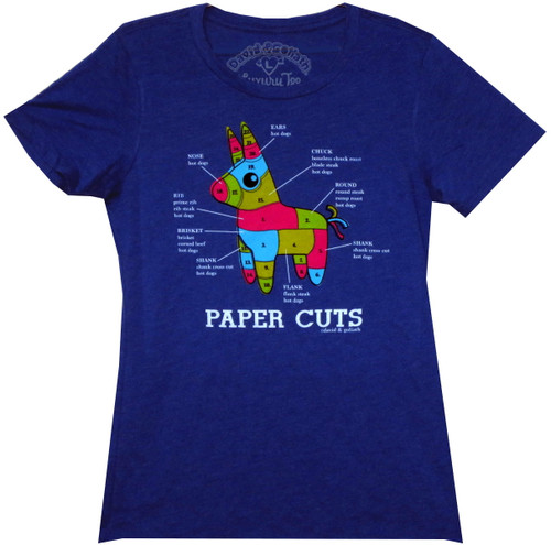 Image for David & Goliath Girls T-Shirt - Paper Cuts