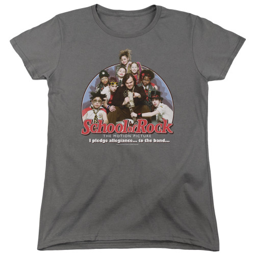 Image for School of Rock Womans T-Shirt - I Pledge Allegiance
