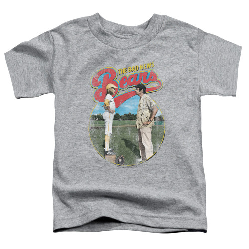 Image for Bad News Bears Vintage Poster Toddler T-Shirt