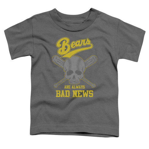 Image for Bad News Bears Always Bad News Poster Toddler T-Shirt