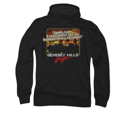Image for Beverly Hills Cop Hoodie - Banana in My Tailpipe