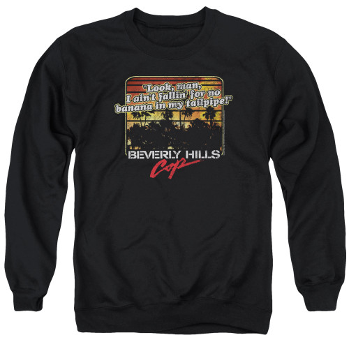 Image for Beverly Hills Cop Crewneck - Banana in My Tailpipe