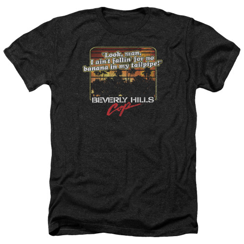 Image for Beverly Hills Cop Heather T-Shirt - Banana in My Tailpipe