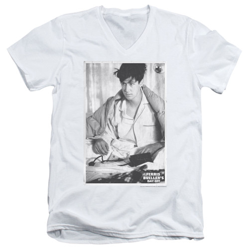 Image for Ferris Bueller's Day Off V Neck T-Shirt - Cameron
