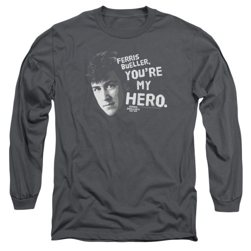 Image for Ferris Bueller's Day Off Long Sleeve Shirt - My Hero