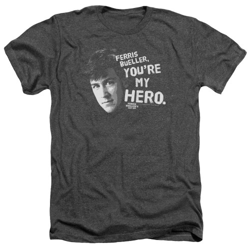 Image for Ferris Bueller's Day Off Heather T-Shirt - My Hero