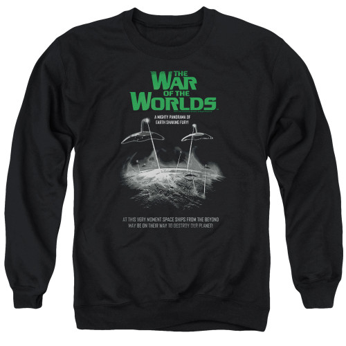 Image for War of the Worlds Crewneck - Attack Poster