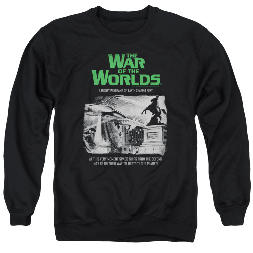 Image for War of the Worlds Crewneck - Attack People Poster