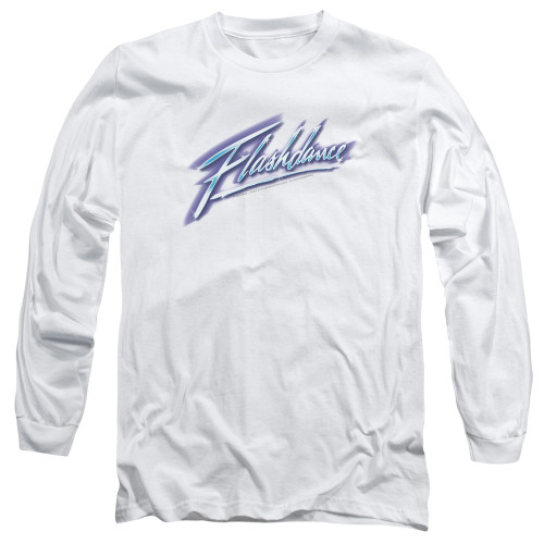 Image for Flashdance Long Sleeve Shirt - Logo