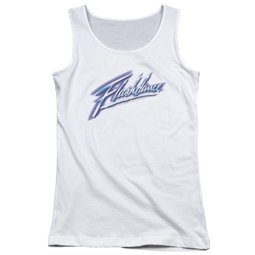 Image for Flashdance Girls Tank Top - Logo