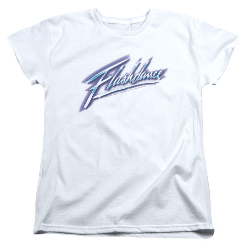 Image for Flashdance Womans T-Shirt - Logo