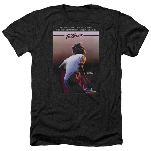 Image for Footloose Heather T-Shirt - Poster