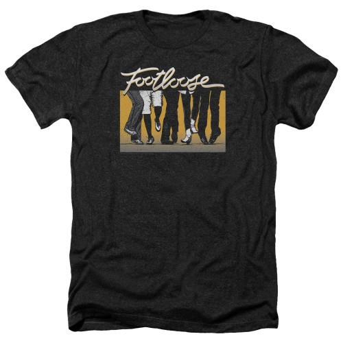 Image for Footloose Heather T-Shirt - Dance Party