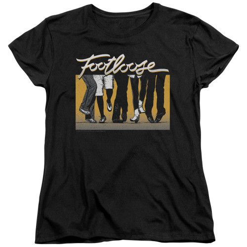 Image for Footloose Womans T-Shirt - Dance Party